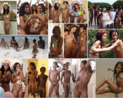 Young nudists without clothes. Photo PureNudism – Brazillian naturism # 1