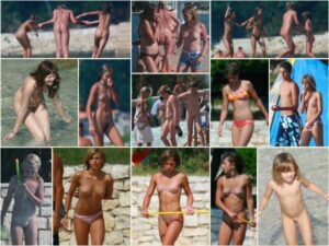 Read more about the article Holy nature – PureNudism. Adult and young nudists photo. Set # 10