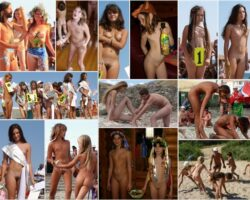 Adults and young nudists without clothes photo. PureNudism # 39