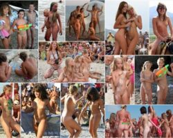 Adults and young nudists without clothes photo. PureNudism # 54