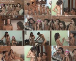 Beauty family nudism video – Fun tropical activity vol.1