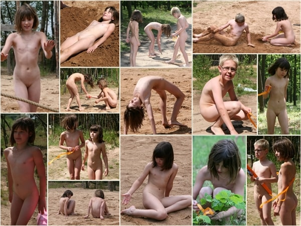 Many photos of nudists of different ages PureNudism  Lakeside day friends