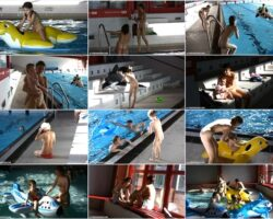 New family nudism video – Floating on our rafts vol.2