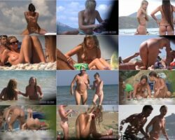 Nudism exhibitionism video – Candid family nudism vol.1