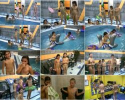 Nudism naturism video – Contests in the water vol.2
