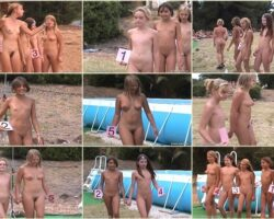 People without clothes video – Junior miss pageant France vol.6