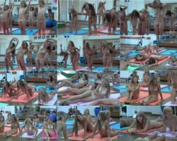 Video with nudists – Teen nudist workout vol.1